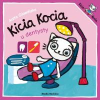 Kicia Kocia idzie do dentysty - Anita Głowińska   mała okładka