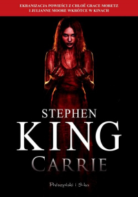 Carrie - Stephen King | mała okładka