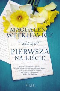Pierwsza na liście - Magdalena Witkiewicz | mała okładka