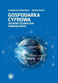 Gospodarka cyfrowa. Jak nowe technologie zmieniają świat - Śledziewska Katarzyna, Włoch Renata   mała okładka