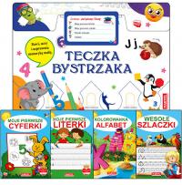Teczka bystrzaka Zestaw Już piszę i liczę - zbiorowa praca | mała okładka