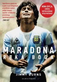 Maradona. Ręka Boga - Jimmy Burns | mała okładka