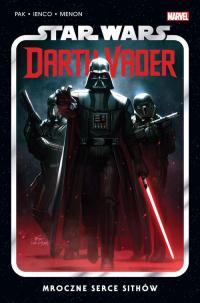 Star Wars Darth Vader Mroczne serce Sithów Tom 1 - Greg Pak | mała okładka