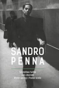 Szczęśliwa hańba Wybór wierszy / Lieto disonore Poesie scelte - Sandro Penna   mała okładka