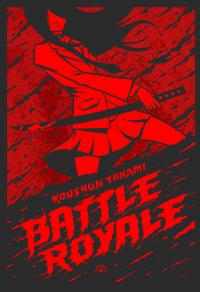 Battle Royale - Koushun Takami | mała okładka