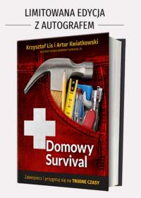 Domowy survival - Krzysztof Lis, Artur Kwiatkowski | mała okładka