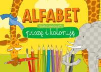 Alfabet. Piszę i koloruję. Dzikie zwierzęta -  | mała okładka