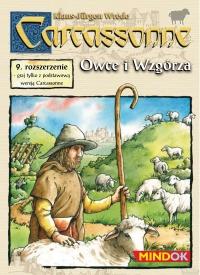Carcassonne - Owce i Wzgórza - rozszerzenie do gry planszowej - Klaus-Jürgen Wrede   mała okładka