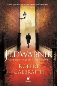 Jedwabnik - Robert Galbraith  (pseud. J.K. Rowling)  | mała okładka