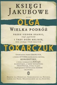 Księgi Jakubowe  - Olga Tokarczuk | mała okładka