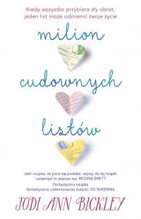 Milion cudownych listów - Bickley Jodi Ann | mała okładka