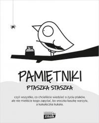 Pamiętniki Ptaszka Staszka - Jedliński Piotr | mała okładka