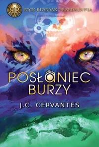 Posłaniec burzy - J. C. Cervantes | mała okładka