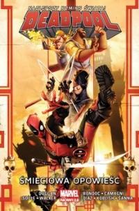 Śmieciowa opowieść. Deadpool. Tom 4 -  Gerry Duggan;  Charles Soule;  David Walker | mała okładka
