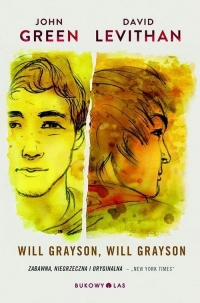 Will Grayson, Will Grayson  - John Green, David  Levithan | mała okładka