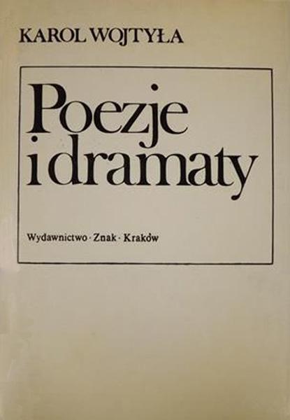 Poezje i dramaty - bp Karol Wojtyła  | okładka