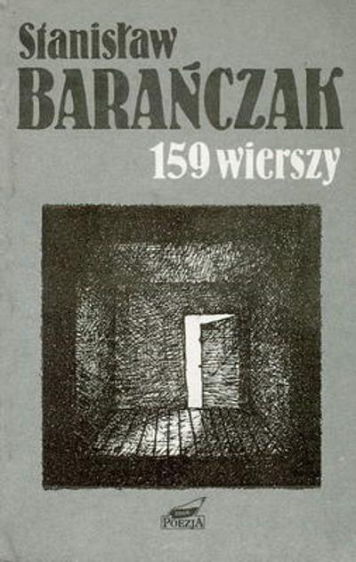 159 wierszy 1968-1988 - Stanisław Barańczak  | okładka