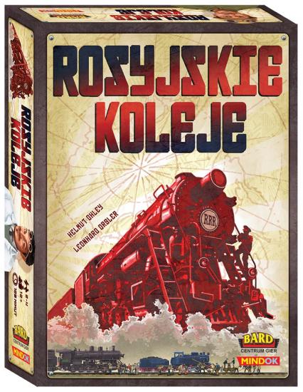 Rosyjskie koleje - gra planszowa  - Helmut Ohley | okładka