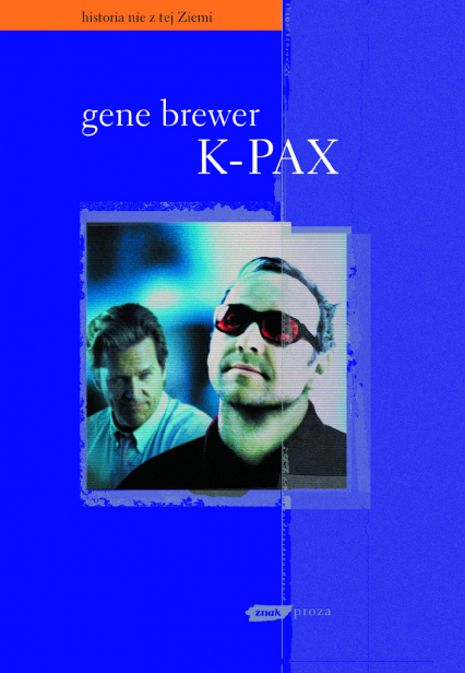 K-pax - Gene Brewer  | okładka