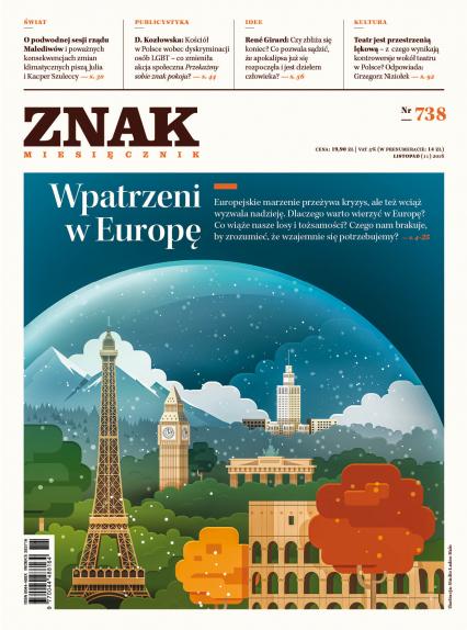 ZNAK 738 11/16 Wpatrzeni w Europę -  | okładka