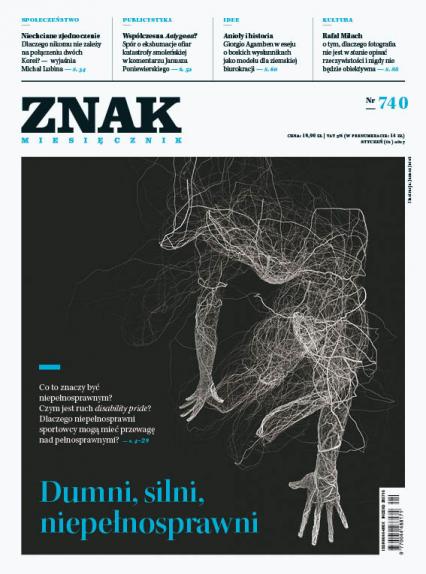 ZNAK 740 1/2017 Dumni, silni, niepełnosprawni -  | okładka