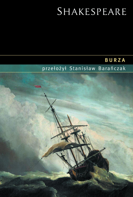 Burza - William Shakespeare  | okładka