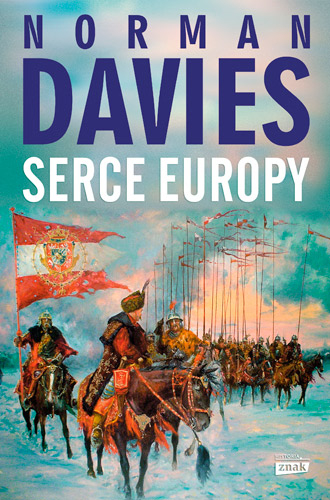 Serce Europy - Norman Davies | okładka