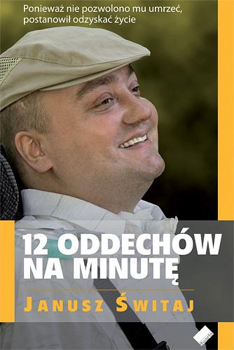 12 oddechów na minutę - Janusz Świtaj  | okładka