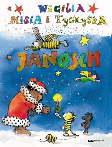 Wigilia Misia i Tygryska -  Janosch  | okładka