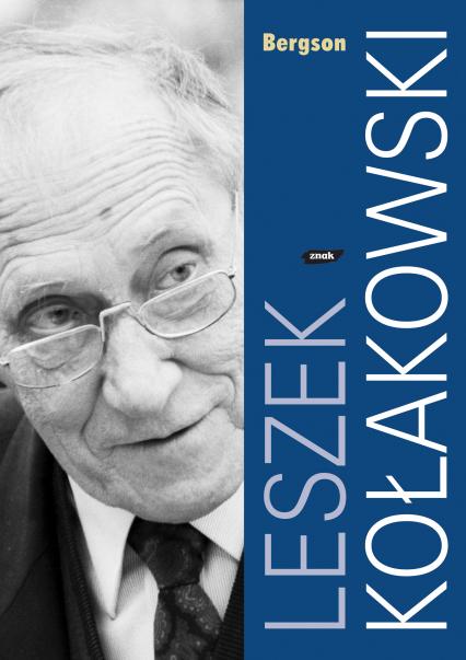 Bergson - Leszek Kołakowski  | okładka