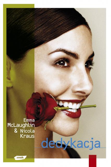 Dedykacja - Emma McLaughlin, Nicola Kraus  | okładka