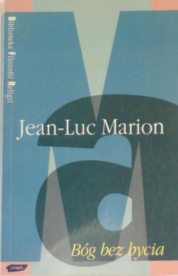 Bóg bez bycia - Jean-Luc Marion  | okładka
