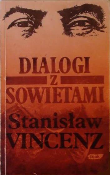 Dialogi z sowietami - Stanisław Vincenz  | okładka