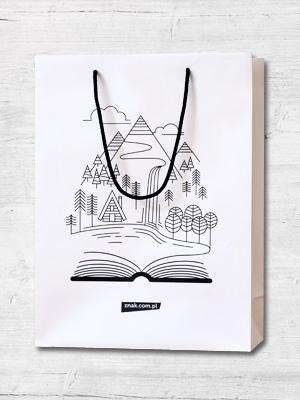 Torba prezentowa na książki (duża) -  | okładka