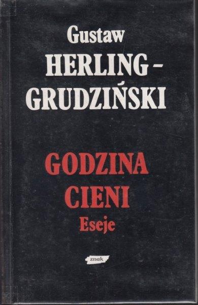 Godzina cieni - Gustaw Herling-Grudziński  | okładka