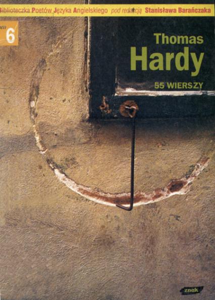 55 wierszy - Thomas Hardy  | okładka