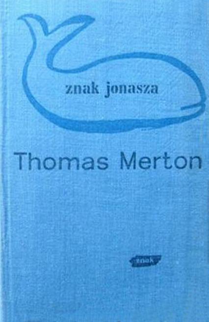 Znak Jonasza - Thomas Merton  | okładka