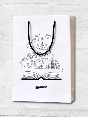 Torba prezentowa na książki (mała) -  | okładka