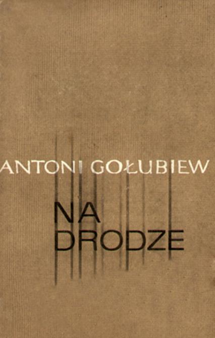 Na drodze. Opowiadania - Antoni Gołubiew  | okładka