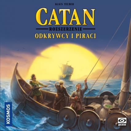 Catan - Odkrywcy i Piraci (nowa edycja) - gra planszowa