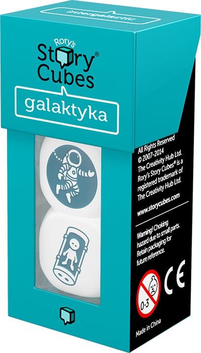 Story Cubes: Galaktyka - rozszerzenie do gry - Rory O'Connor  | okładka