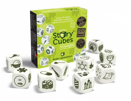 Story Cubes: Podróże - gra - Rory O'Connor  | okładka