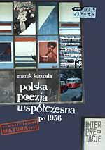 Poezja polska po 1956 roku - Marek Karwala  | okładka