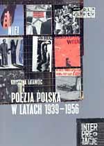 Poezja polska w latach 1939-1956 - Krystyna Latawiec  | okładka