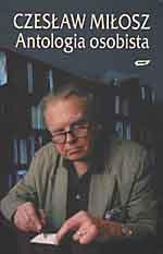 Antologia osobista - Czesław Miłosz  | okładka