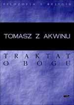Traktat o Bogu - św.   Tomasz z Akwinu  | okładka