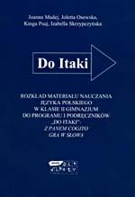 Rozkład materiału nauczania języka polskiego w klasie II gimnazjum