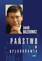 Państwo w przebudowie - Leszek Balcerowicz  | okładka