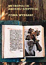 Pisma wybrane - Andrzej Szeptycki  | okładka