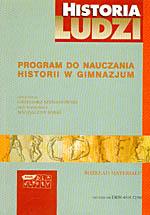 Program do nauczania historii w gimnazjum. Rozkład materiału - Grzegorz Szymanowski, Magdalena Sobaś  | okładka